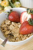 Cereal with fruit Royalty Free Stock Photos