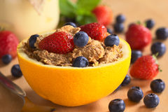 Cereal with Fruits Royalty Free Stock Photo