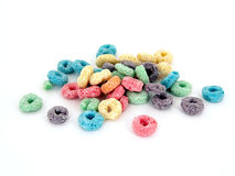 Cereal Fruity dos miúdos Fotografia de Stock Royalty Free