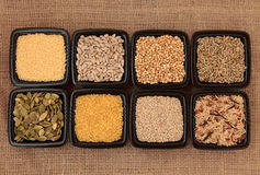 Cereal and Grain Selection Stock Photo