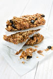 Cereal granola bars Stock Photography