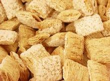 Cereal helado del trigo integral Fotos de archivo libres de regalías