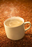 Cereal hot drink. High fibre cereal hot drink Royalty Free Stock Photo