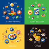 Cereal Icon Set Stock Image
