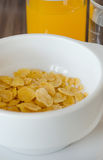 Cereal and juice Stock Photography