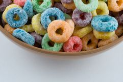 Cereal loops stock photos