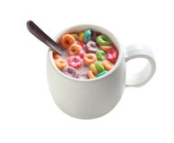 Cereal Milk Royalty Free Stock Photography