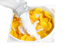 Cereal With Milk Royalty Free Stock Photo