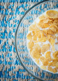 Cereal with milk Royalty Free Stock Images