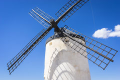 Cereal mills mythical Castile in Spain, Don Quixote, Castilian l Royalty Free Stock Image