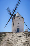 Cereal mills mythical Castile in Spain, Don Quixote, Castilian l Stock Images