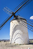 Cereal mills mythical Castile in Spain, Don Quixote, Castilian l Royalty Free Stock Images