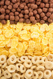 Cereal mix as background Stock Images