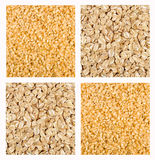 Cereal Mix of Rye and Brown Rice Royalty Free Stock Photo