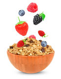 Cereal muesli Stock Images