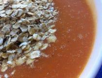 Cereal na sopa Imagens de Stock