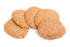 Cereal oatmeal cookies Stock Images