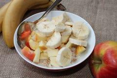 Cereal para o café da manhã Imagens de Stock Royalty Free