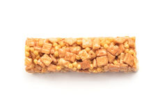 Cereal protein bar Stock Photo