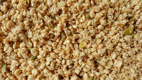 Cereal and puffed brown rice Stock Photos