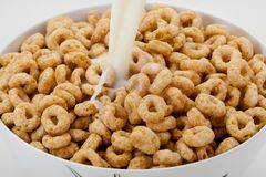 Cereal rings Royalty Free Stock Photography