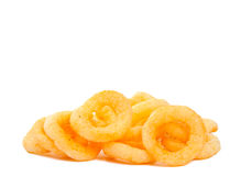 Cereal rings isolated Royalty Free Stock Images