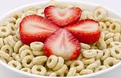 Cereal sano de la avena Foto de archivo libre de regalías