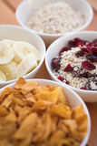 Cereal selection Royalty Free Stock Image