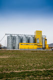 Cereal silos Stock Images