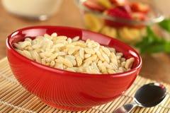 Cereal soplado del arroz Imagen de archivo libre de regalías