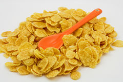 Cereal with spoon Stock Photo