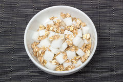 Cereal Sugar Royalty Free Stock Photos