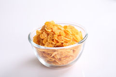 Cereal in white background Royalty Free Stock Photos