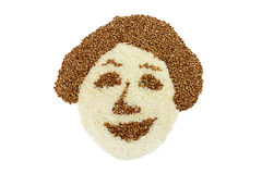 Cereal woman Stock Photos
