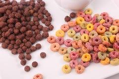 Cereale colorato fotografie stock