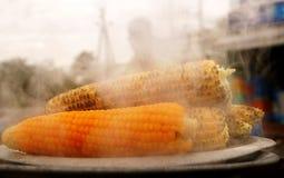Cereale cotto a vapore: Anche gli spuntini Immagine Stock
