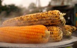 Cereale cotto a vapore: Anche gli spuntini Fotografia Stock