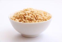 Cereale croccante 2 del riso fotografia stock