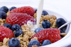 Cereale da prima colazione 2 Immagine Stock Libera da Diritti