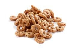 Cereale da prima colazione isolato Fotografie Stock
