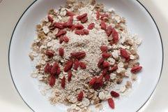 Cereale da prima colazione sano Fotografie Stock Libere da Diritti