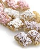 Cereale dei fiocchi di frumento Fotografia Stock