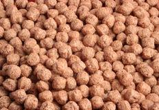 Cereale del cioccolato Fotografie Stock Libere da Diritti