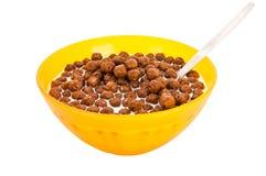 Cereale del cioccolato Fotografia Stock