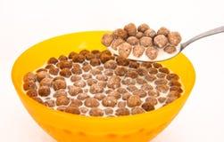 Cereale del cioccolato Fotografia Stock Libera da Diritti