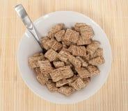 Cereale del frumento della cannella immagini stock libere da diritti
