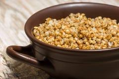 Cereale del grano saraceno Fotografia Stock