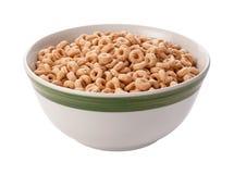 Cereale dell'avena isolato con il percorso di residuo della potatura meccanica Fotografie Stock Libere da Diritti