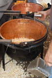 Cereale della caldaia Fotografia Stock