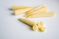 Cereale di bambino affettato ed intero Immagini Stock